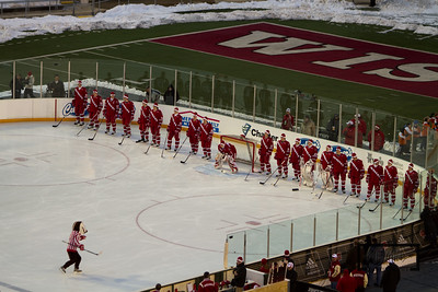 Culvers Camp Randall Hockey Classic Wisconsin Badgers vs. Michigan Wolverines  Outdoor Hockey at Camp Randall, Badgers victorious 3-2  © Copyright m2 Photography - Michael J. Mikkelson 2010. All Rights Reserved. Images can not be used without permission.