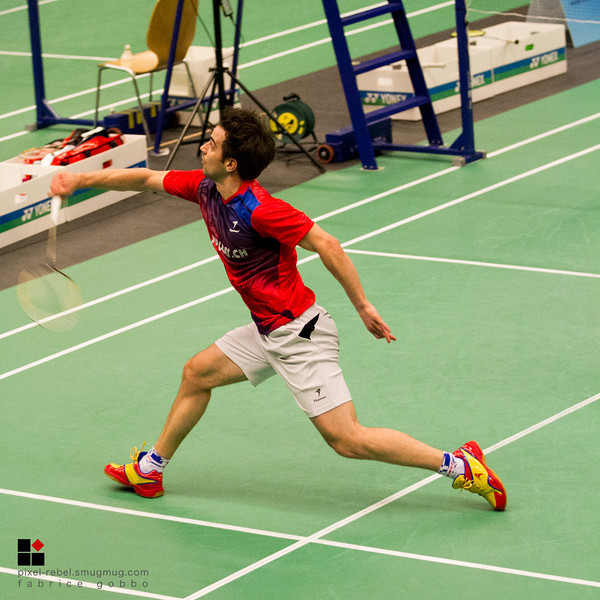 Championnat Suisse élite 2014 de badminton, 2ème journée double messieurs