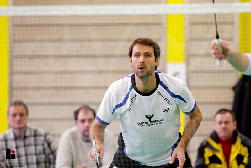 Championnat suisse LNA Badminton 2013, BC La Chaux-de-Fonds - BC Yverdon-les-Bains