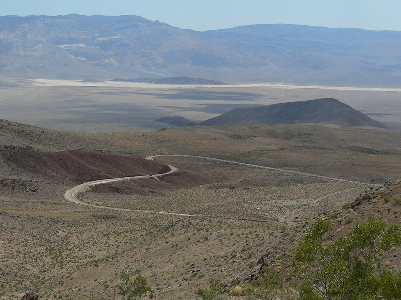 Looking at panamint Valley from Father Crowley's