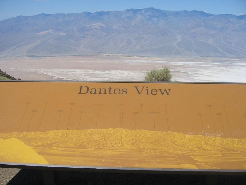 Pre-race ritual visit to Dante's View.