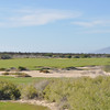 Hole 1 - green in distance