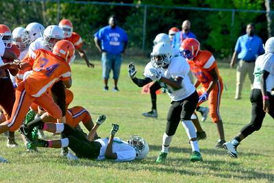 Baker vs Double Churches MS Football 1-=5-17