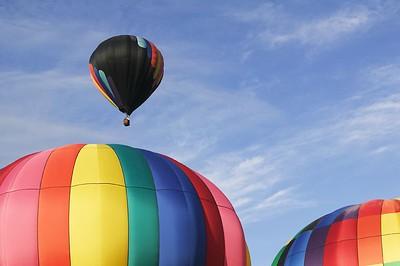 Balloons over Bend, Oregon  June 2005