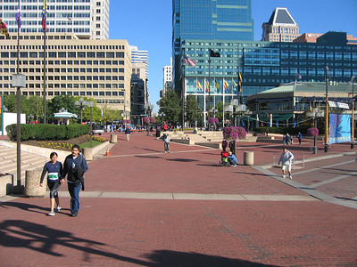 Downtown Baltimore, harbor area