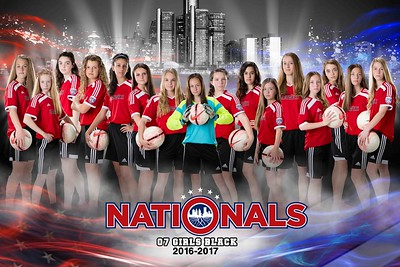 Nationals Downtown Poster