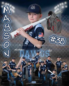 Mayson Michigan Dawgs 8u 2020 DS and MM