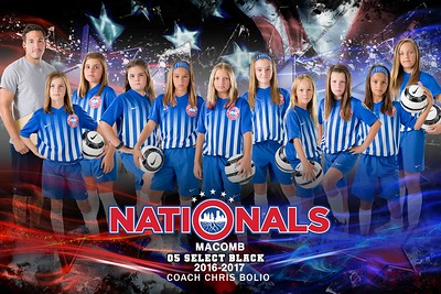 Nationals Poster 05 Select Black