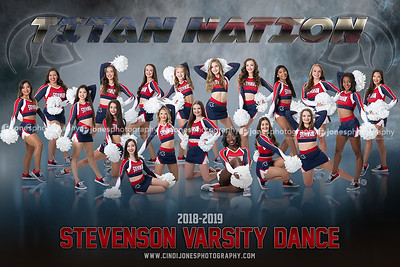 Stevenson Dance Team Poster 2018 2019 2