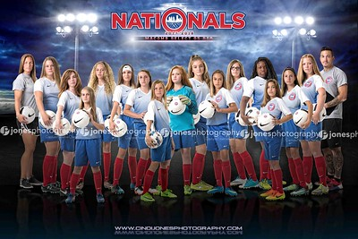 Nationals Macomb Select 05 Girls Red