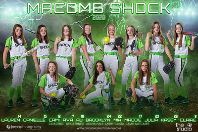 Macomb Shock 2020 Names Adjusted