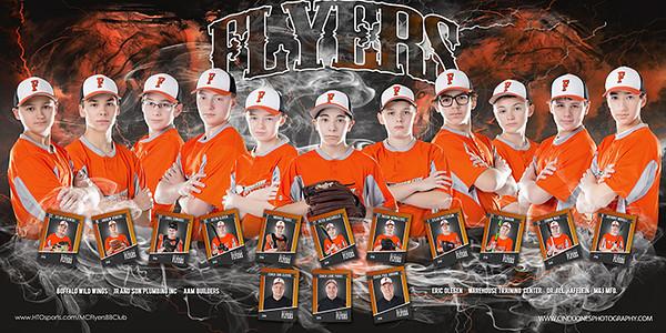 Motor City Flyers Baseball Team Banner Cloven 2016 copy