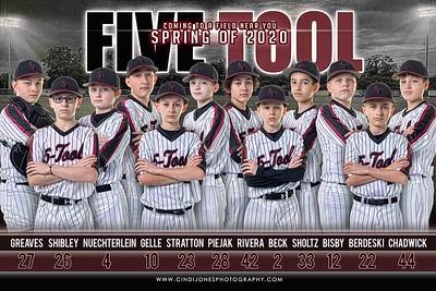 5 Tool 12u Baseball