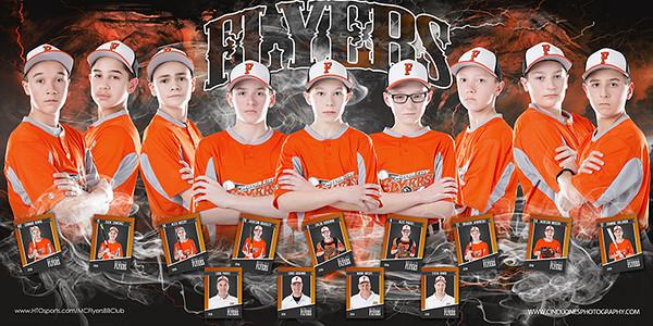 Motor City Flyers Baseball Team Banner Paras 2016 copy 2