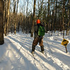 Next Dave, second time on XC skis.