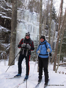 Welcome to Banning State Park.   The park ranger is friendly, and the R&R value is high.   A former sandstone quarry, the now park has miles of hiking trails available for classic skiing in winter.