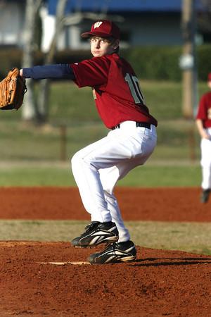 Walker Middle School Baseball 2008