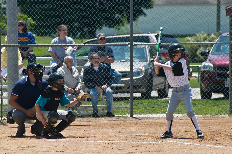Alex at the plate
