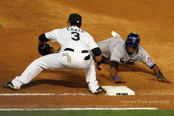 Baseball - 2009 Florida Marlins vs New York Mets