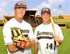 Derek Trent and Bo Burton (check with bill to be sure which is which) play for ETSU but spent many an hour at J. Fred Johnson stadium while they played for Dobyns Bennett. Photo by Ned JIlton II
