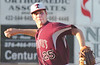 #25 of Tennessee High, the starting pitcher for the Tennessee team. Photo by Ned Jilton II