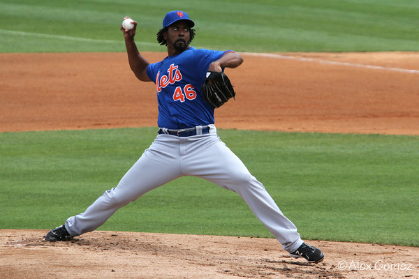 Baseball - 2012 New York Mets vs Miami Marlins