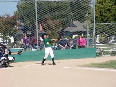 Baseball A's Tournament Game #1 vs. Twins 6-9-11