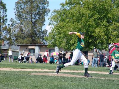 Baseball A's vs Diamond Backs 4-9-11