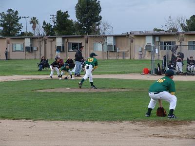 Baseball A's vs Giants 3-22-11