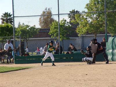 Baseball A's vs. Giants 5-25-11