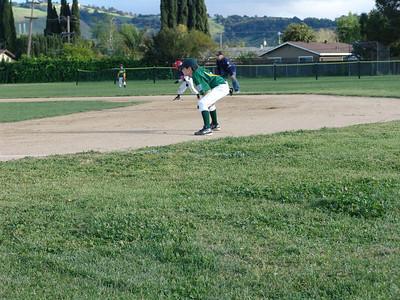 Baseball A's vs. Twins 4-20-11