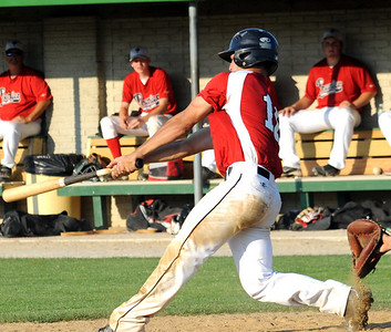 Vipers 16 hits an RBI single in sixth inning July 7.  Steve Manheim