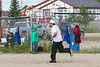 Baseball in Moosonee 2014 July 26th
