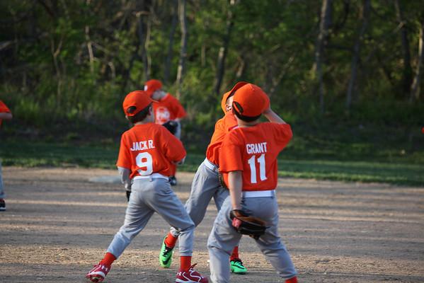 Pond Orange Crush Baseball vs Ellisville
