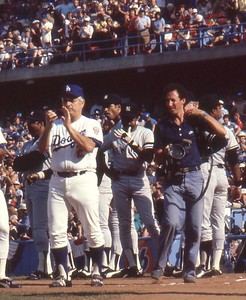 Tommy Lasorda, Chuck Cohen, 1978 World Series