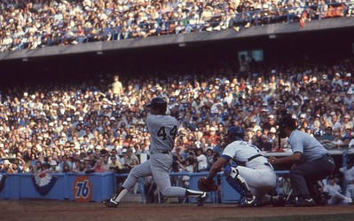 Reggie Jackson crushes Home Run 1978 World Series, Dodger Stadium