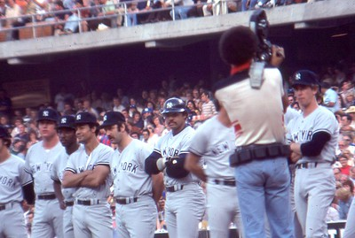 Reggie Jackson, Thurman Munson, 1977 World Series