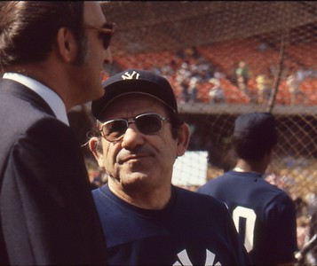 Yogi Berra and Frank Torre, 1978 World Series
