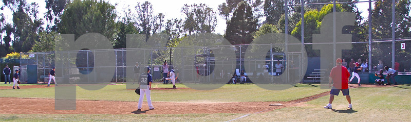 Tigers vs Red Sox, PPBA Semi Final Game, won by Tigers, Mustang Division, Pacific Palisades Park's Field of Dreams