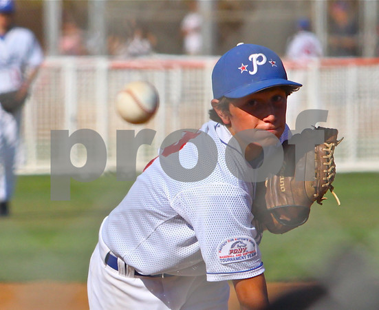 Spencer Howard throws a strike against East Long Beach in the Bronco game