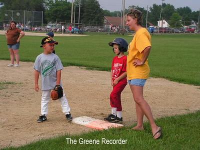 Baseball Pee Wee Greene vs Allison