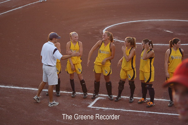 State Softball vs Treynor