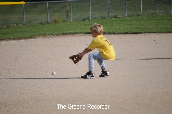 Baseball Peewee vs Manly