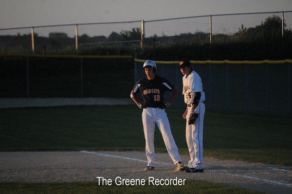 District Baseball vs Janesville