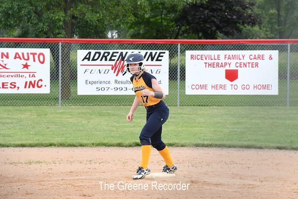 Softball at Riceville
