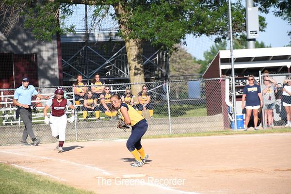 Softball at Newman