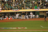 2006 American League Division Series on Friday, Oct. 6. Oakland Athletics defeated the Minnesota Twins, 8-3.