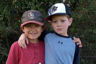Best friends, Casey and Brandon