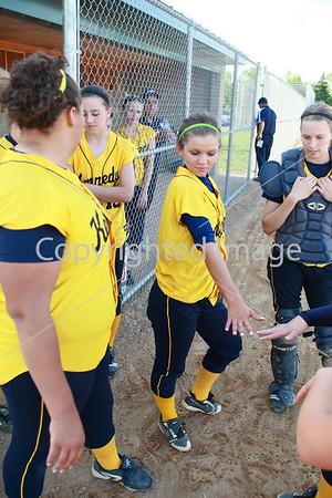 2010-05-17 JFK Fastpitch Girls Varsity vs Eden Prairie
