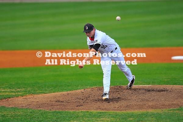21 April 2011:  Appalachian State takes on Davidson in SoCon baseball action at Wilson Field in Davidson, North Carolina.